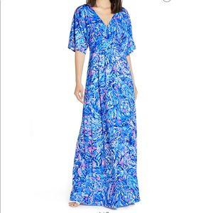 NWT Lilly Pulitzer Parigi maxi dress sz sm